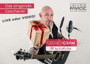 GeorgyGram - Das singende Telegramm Live oder Video