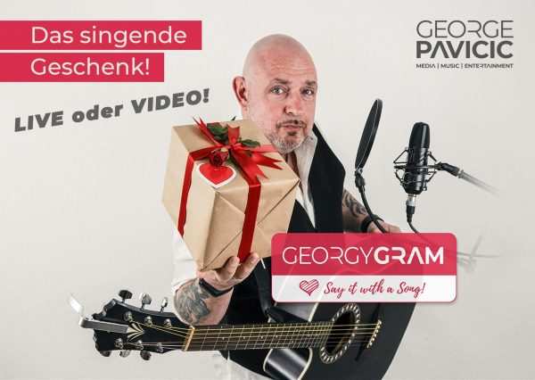 GeorgyGram - Das singende Telegramm Live oder Video