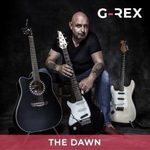 G-REX - The Dawn - EP Cover